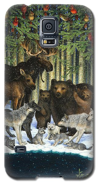 Christmas Gathering Galaxy S5 Case