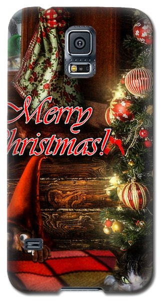 Christmas Greeting Card Viii Galaxy S5 Case