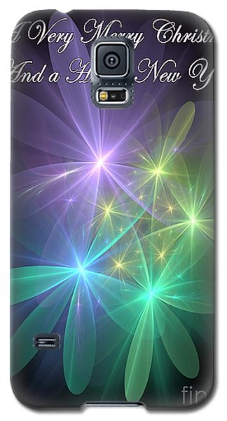 Galaxy S5 Case featuring the photograph Christmas Greetings From Ethereal Realms by Svetlana Nikolova