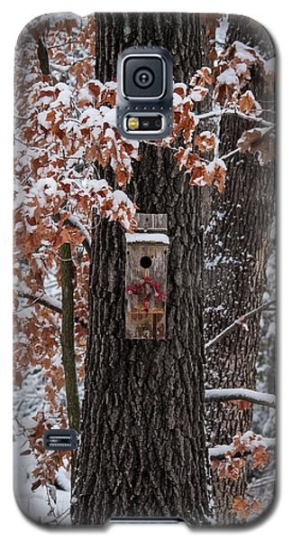 Galaxy S5 Case featuring the photograph Christmas Greetings by Wayne Meyer