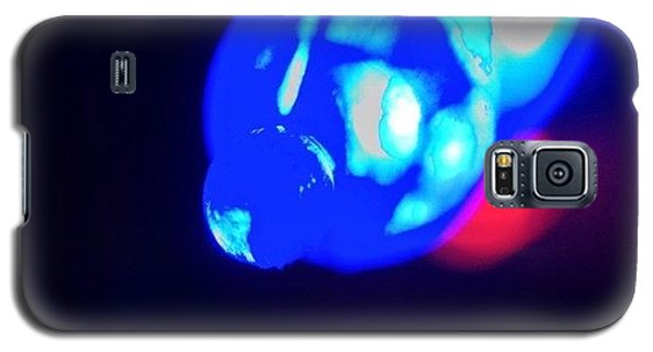 Edit Galaxy S5 Case - Christmas In Blue by Anna Porter
