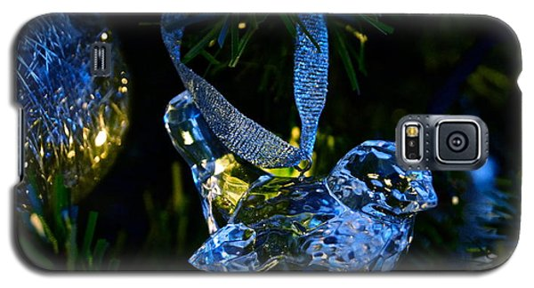Christmas In Glass Galaxy S5 Case