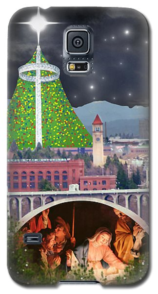 Christmas In Spokane Galaxy S5 Case