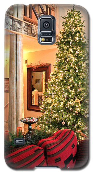 Galaxy S5 Case featuring the photograph Christmas In The Adirondacks by Ann Murphy