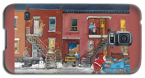 Christmas In The City Galaxy S5 Case