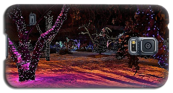 Christmas In The Park Galaxy S5 Case