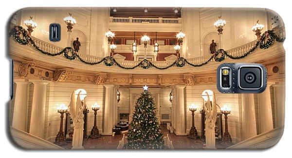 Christmas In The Rotunda Galaxy S5 Case
