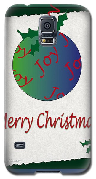 Christmas Joy Galaxy S5 Case