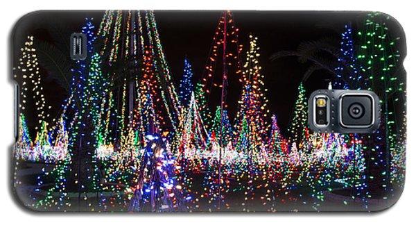Christmas Lights 3 Galaxy S5 Case