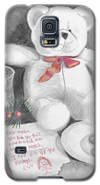 Christmas List Galaxy S5 Case