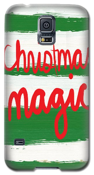 Magician Galaxy S5 Case - Christmas Magic - Greeting Card by Linda Woods