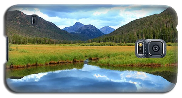 Christmas Meadows In The Uinta Mountains. Galaxy S5 Case