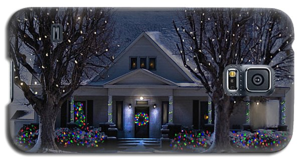 Christmas Memories2 Galaxy S5 Case by Bonnie Willis