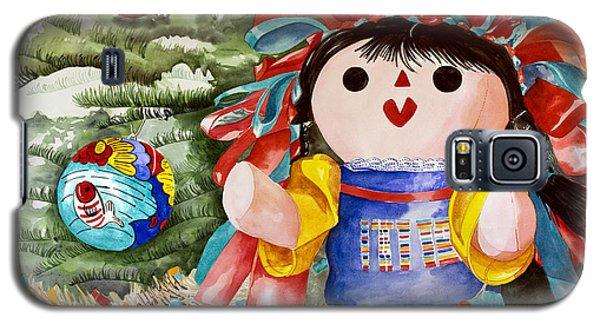 Christmas Muneca Galaxy S5 Case