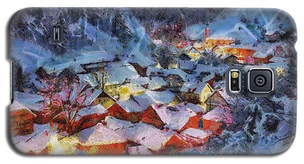 Christmas Night Galaxy S5 Case by Georgi Dimitrov