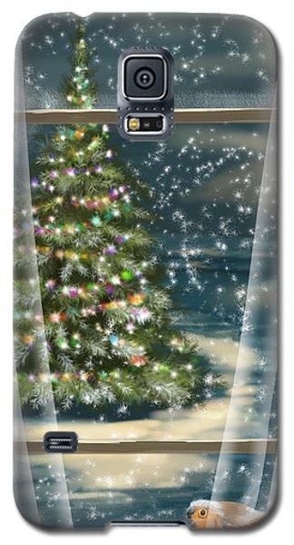 Christmas Night Galaxy S5 Case by Veronica Minozzi