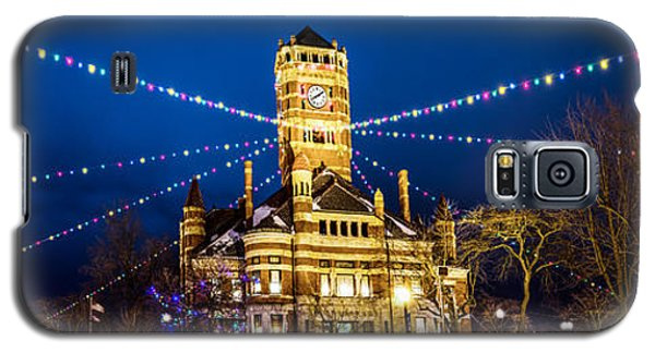 Christmas On The Square Galaxy S5 Case
