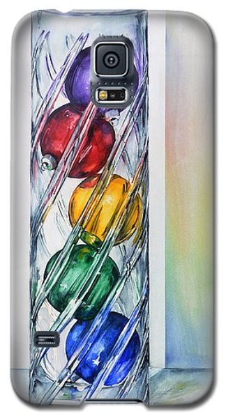 Christmas Ornaments In Vase Galaxy S5 Case