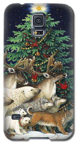 Polar Bear Galaxy S5 Case - Christmas Parade by Lynn Bywaters