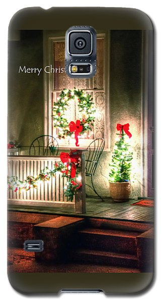 Christmas Porch Galaxy S5 Case