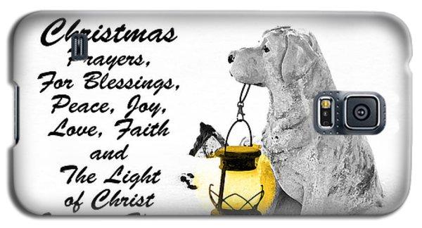 Christmas Prayers Galaxy S5 Case