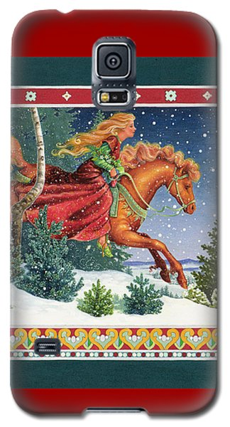 Christmas Ride Galaxy S5 Case