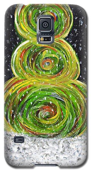 Christmas Snowman Galaxy S5 Case