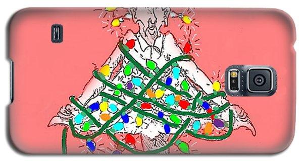 Christmas Spirit Galaxy S5 Case