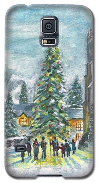 Christmas Spirit Galaxy S5 Case by Teresa White