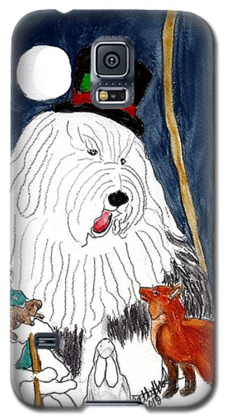Christmas Story Teller Galaxy S5 Case