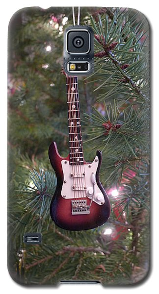 Christmas Stratocaster Galaxy S5 Case by Richard Reeve