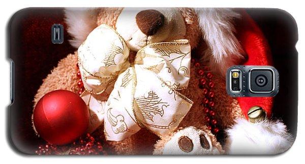 Christmas Teddy Galaxy S5 Case by Terri Waters