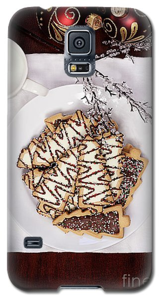Christmas Tree Cookies An Milk Galaxy S5 Case