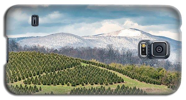 Christmas Tree Farm Galaxy S5 Case