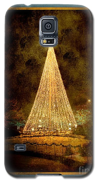 Christmas Tree In The City Galaxy S5 Case