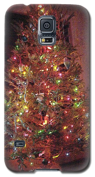 Christmas Tree Memories Red Galaxy S5 Case