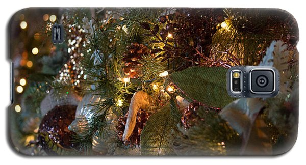 Christmas Tree Splendor Galaxy S5 Case by Patricia Babbitt