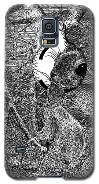 Christmas Tree Squirrel Galaxy S5 Case