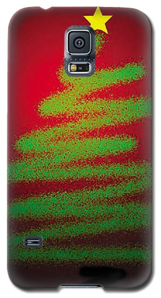 Christmas Tree With Star Galaxy S5 Case