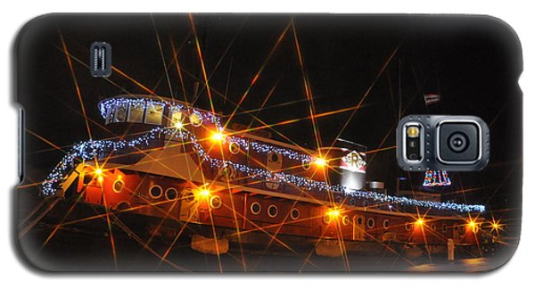 Christmas Tug Boat Galaxy S5 Case