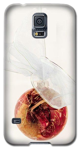 Christmas Decoration Decoupaged Galaxy S5 Case
