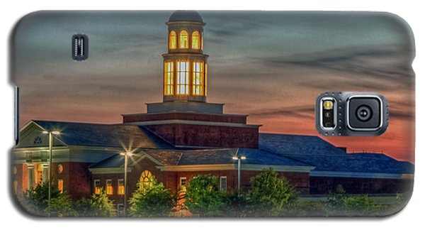 Christopher Newport University Trible Library At Sunset Galaxy S5 Case