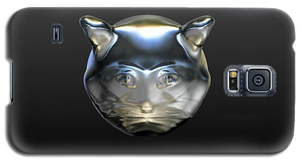 Chrome Cat Galaxy S5 Case