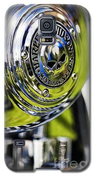 Chrome Harley Davidson Skull Casing Galaxy S5 Case
