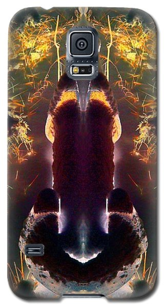 Galaxy S5 Case featuring the photograph Chrome by Karen Newell
