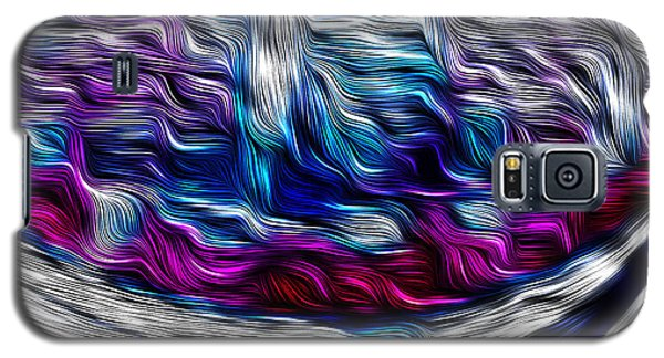 Chrome Waves Galaxy S5 Case by Bill Kesler