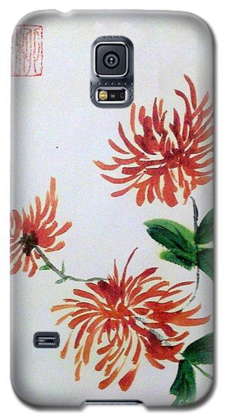 Chrysanthemums Galaxy S5 Case