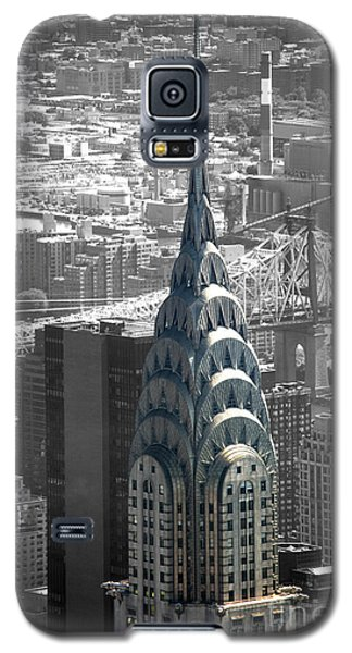 Galaxy S5 Case featuring the photograph Chrysler Building by Angela DeFrias