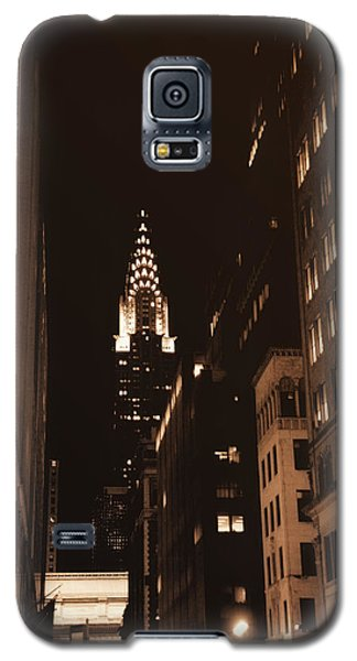 Chrysler Building Galaxy S5 Case by Donna Blackhall