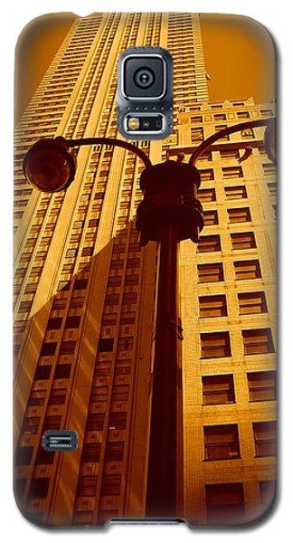 Rockefeller Building In Manhattan Galaxy S5 Case